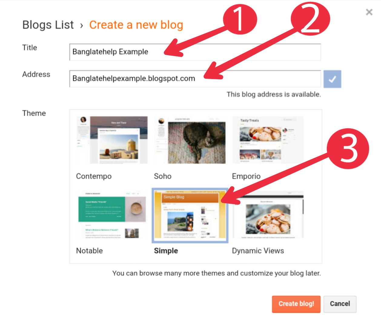 free blog sites Kivabe Create Kora Jai   How To Create free blog sites In  Bengali