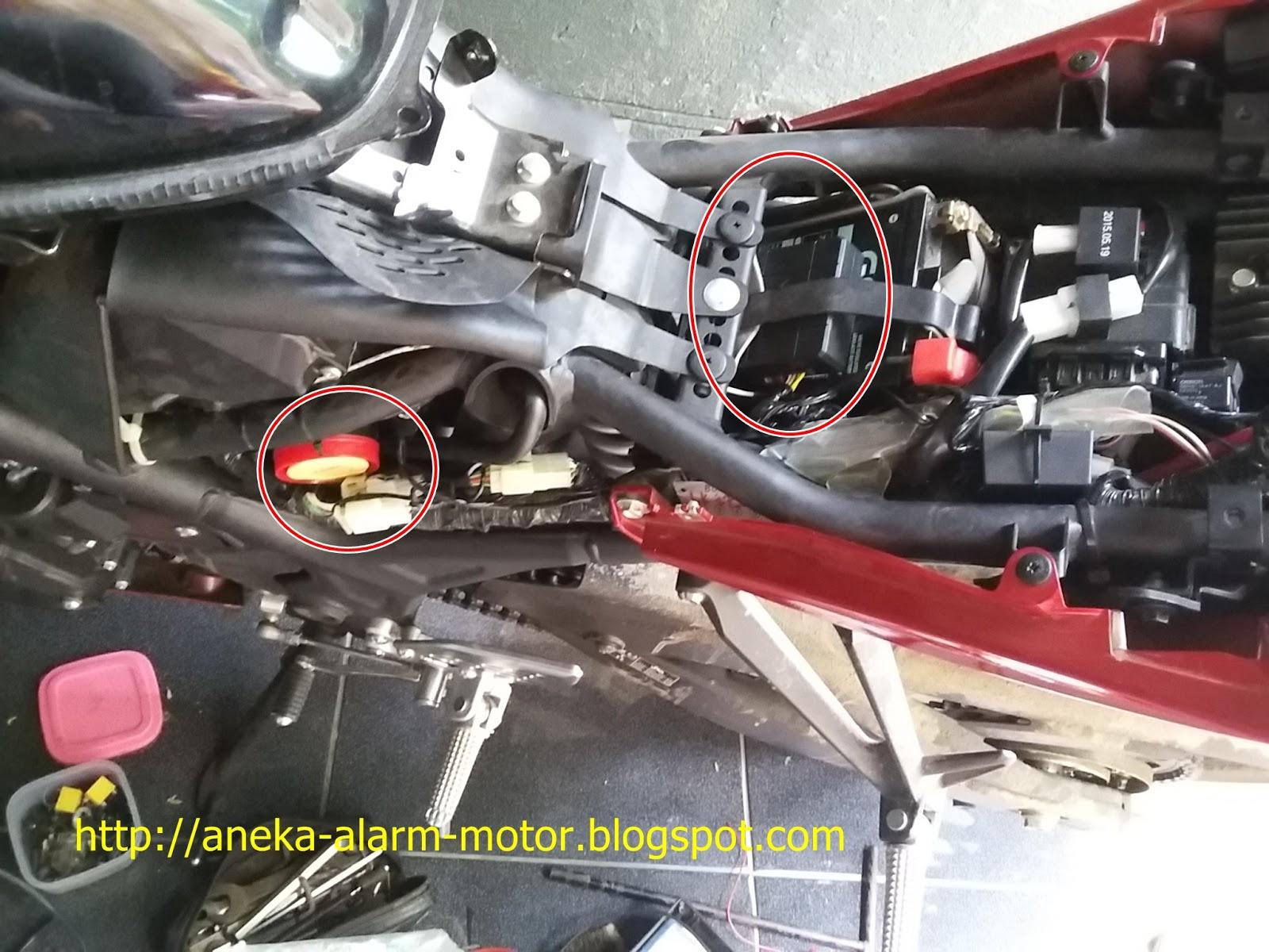 Aneka Alarm Motor  Cara Pasang Alarm Motor Remote Pada Yamaha R25