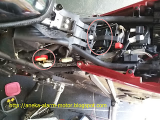 Cara pasang alarm motor pada Yamaha R25