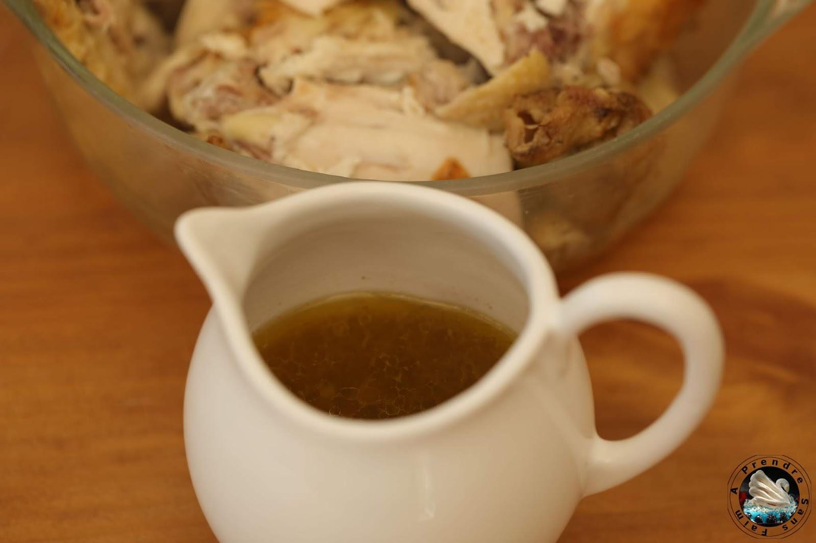 Sauce pour poulet rôti
