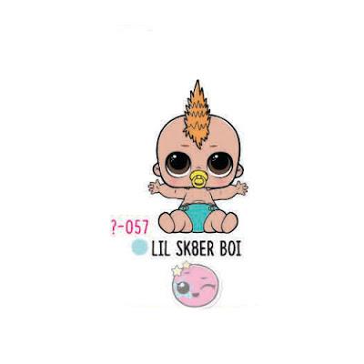 Скейтер беби Lil Sk8er Boi