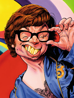 austin, powers, mike, myers, caricature, movie, humour, cinema, cartoon