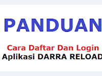 GAGAL Login Apk Darra Reload Karena Belum Punya ID Agen Pulsa