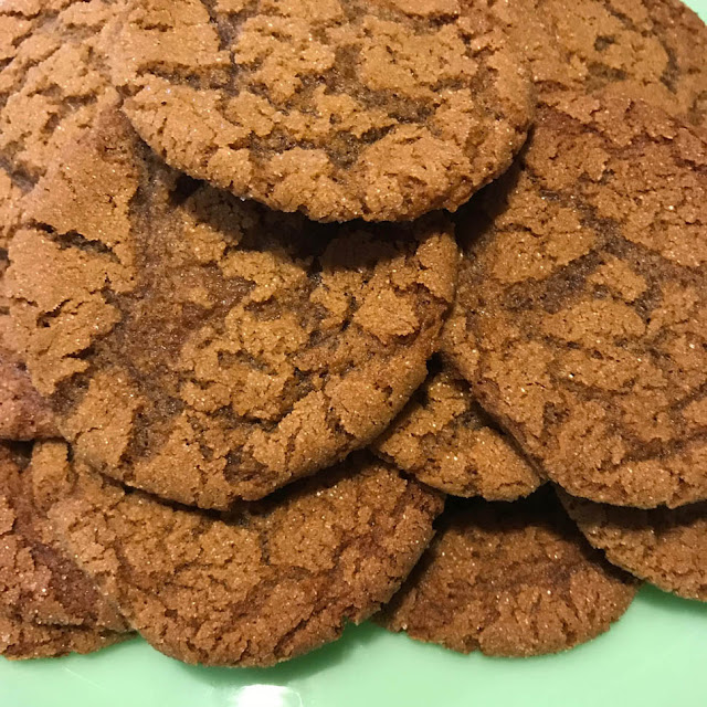 Old Fashion Molasses Cookie Recipe on Thistle Thicket Studio. www.thistlethicketstudio.com