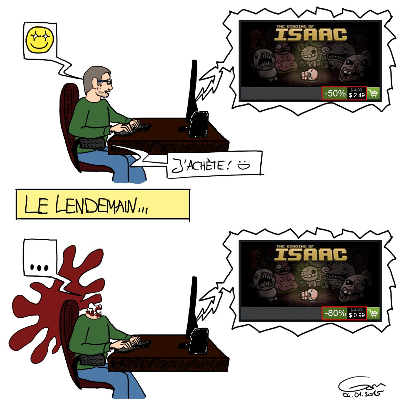 les soldes Steam