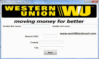 Western Union Money Adder Crack Download ~ Free Download All Paid