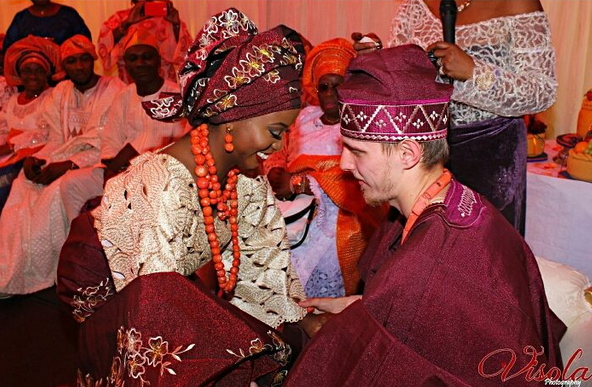 nigerian lady marries white london