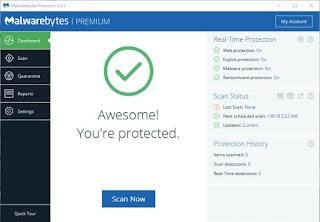 Malwarebytes Anti-Malware Premium v3.3.1.2183 Pre-Activated is Here !