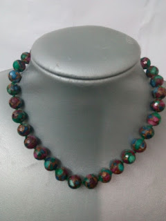 Collar piedras multicolor[45 cm largo]