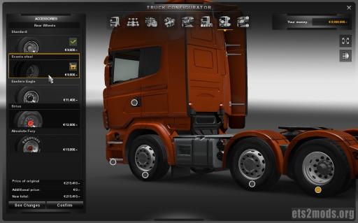 Scania Steel Wheels
