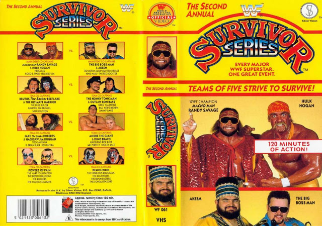 WWF Survivor Series 1988