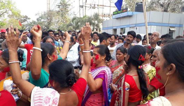 ভারতের ত্রিপুরায় বিধানসভা নির্বাচন: এগিয়ে আছে বিজেপি