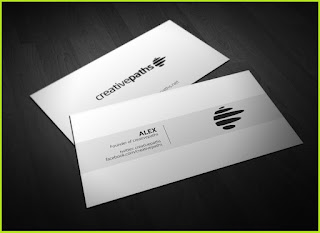 business card template photoshop free download