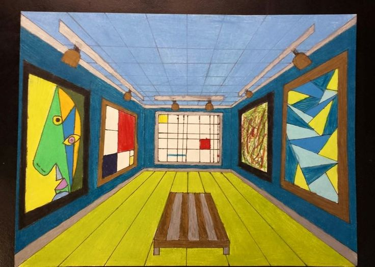 The Crayon Lab Perspective Drawing