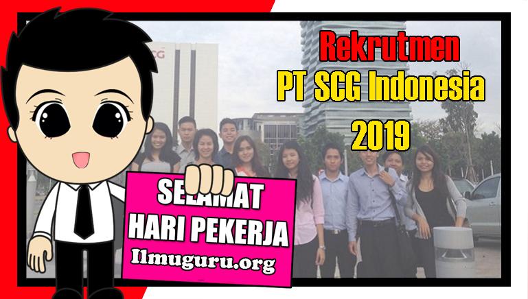 Loker SCG Indonesia
