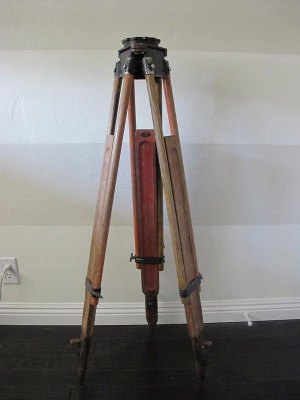 How To Make A DIY Tripod Lamp