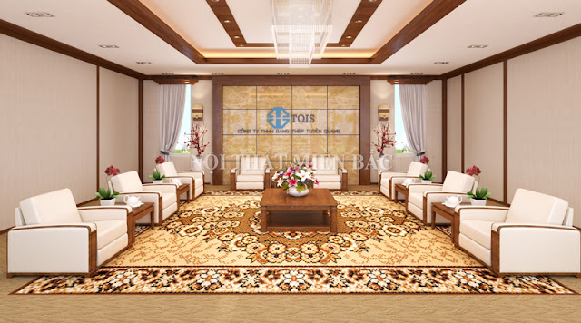 Thiết kế nội thất phòng khánh tiết mang phong cách lịch lãm, sang trọng