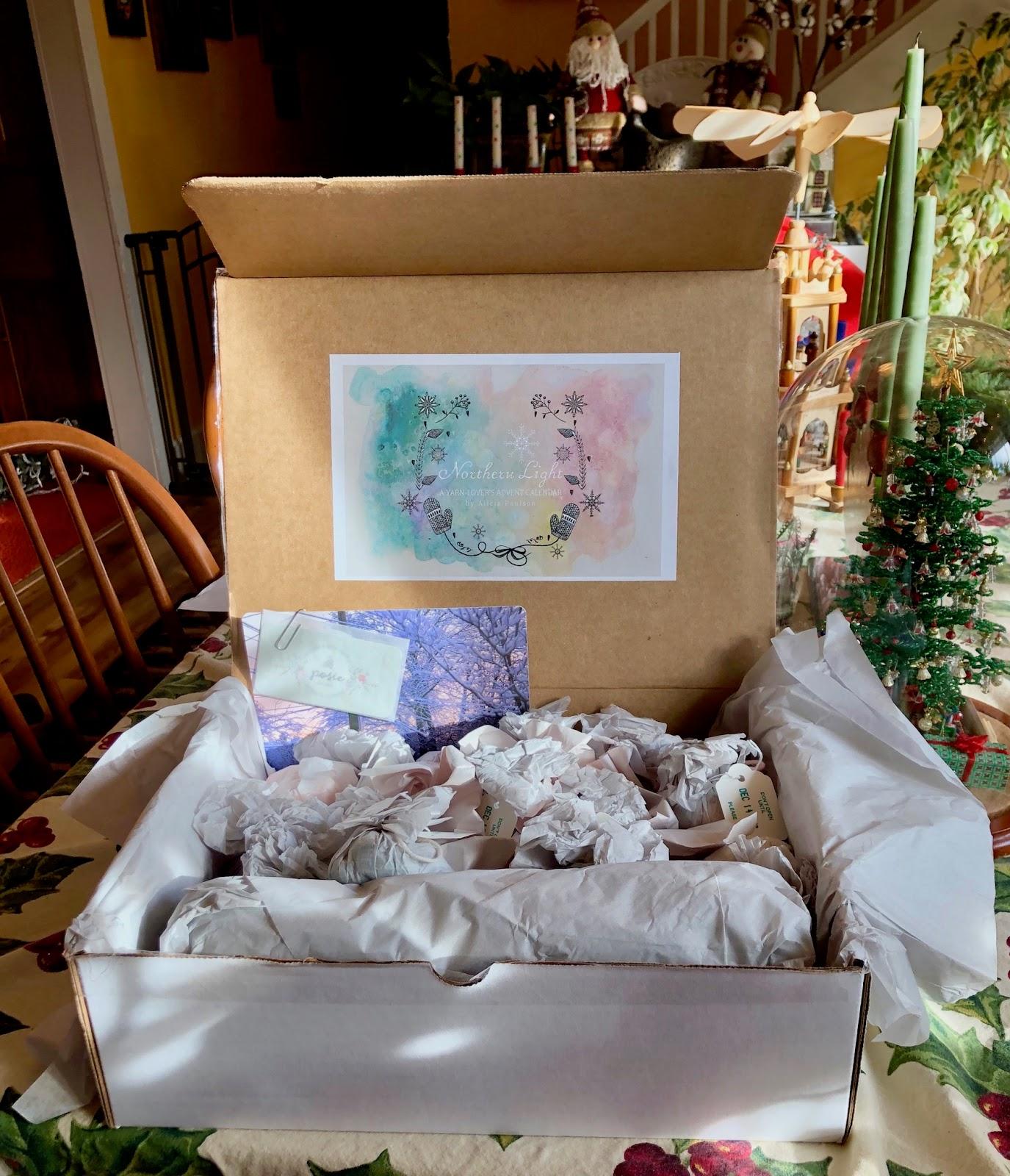 Teresa Kasner Northern Light A Yarn Lovers Advent Calendar