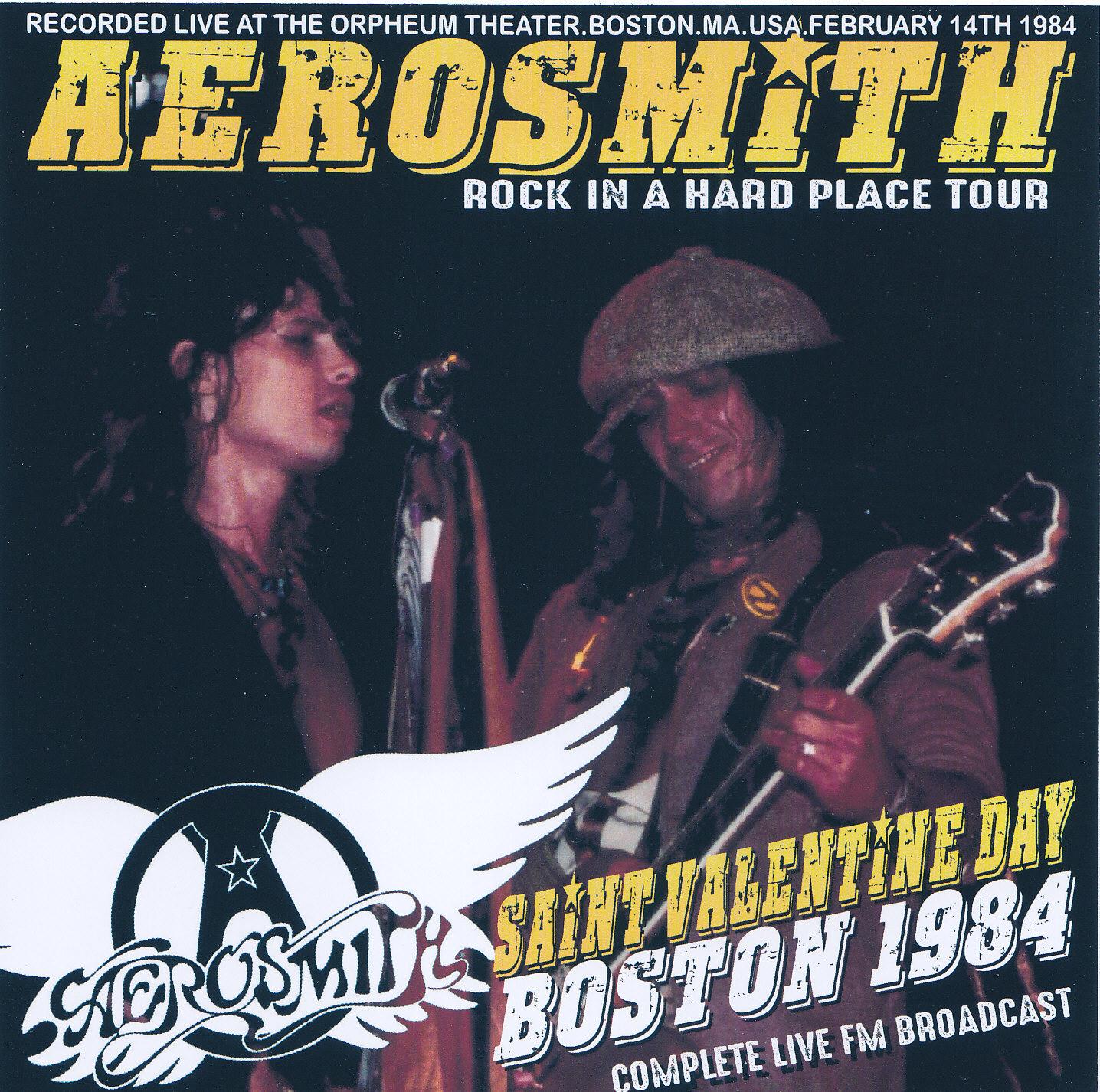 Aerosmith Bootlegs Cover Arts Saint Valentine Day