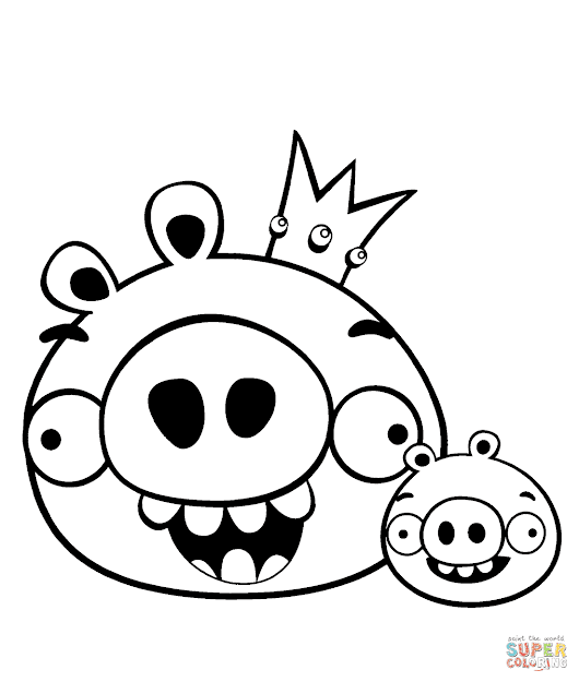 King Pig And Minion