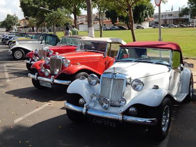 Pela contagem oficial do Clube MP Lafer Brasil, 70 carros da marca estiveram em Artur Nogueira.