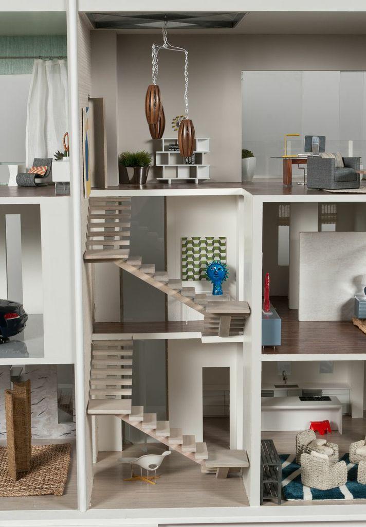 giant folding chair ghost desk modern mini houses