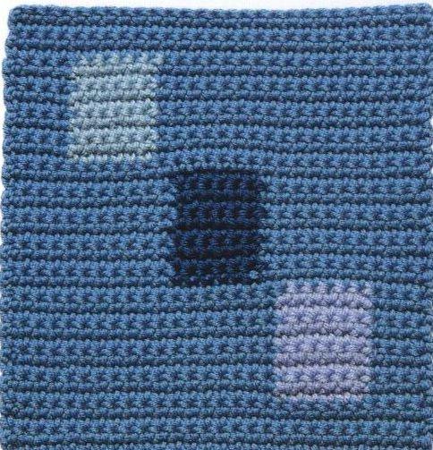 Patrón #1293: Trio a Crochet