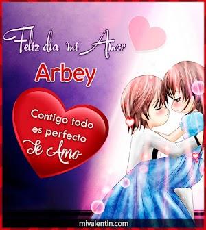 Feliz San Valentín Arbey