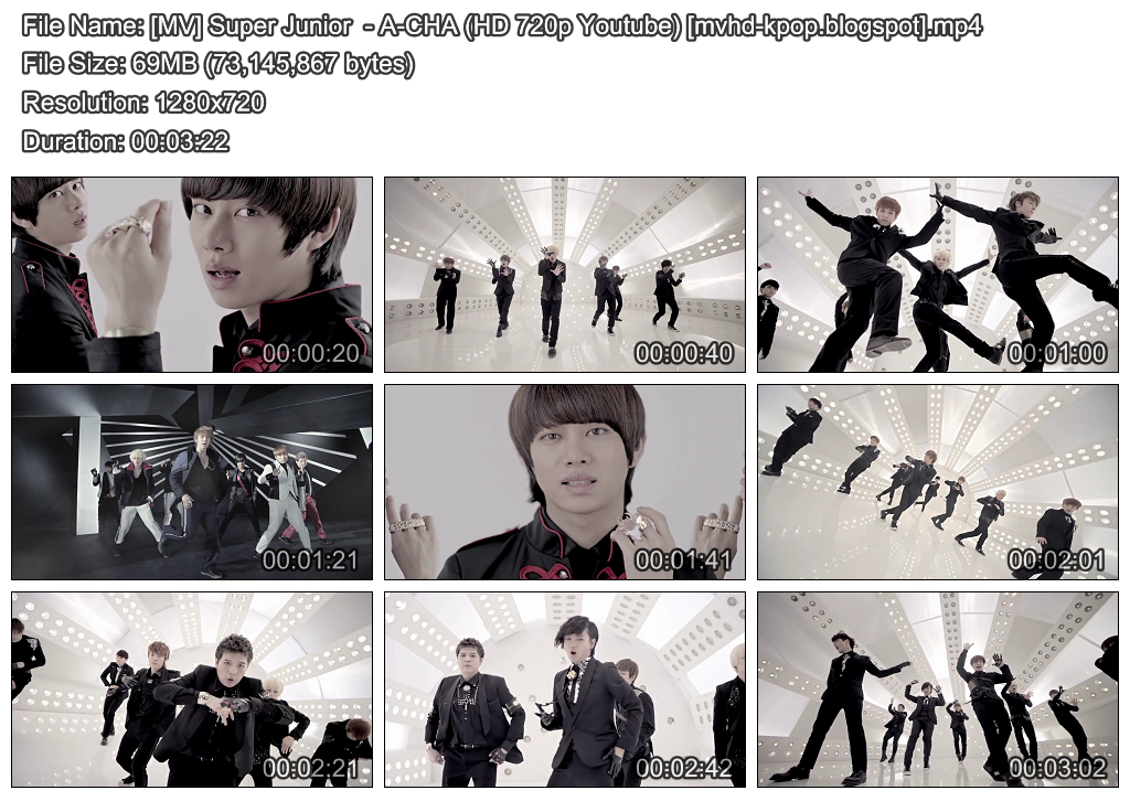 Super Junior Black Suit Songs Açıklaması