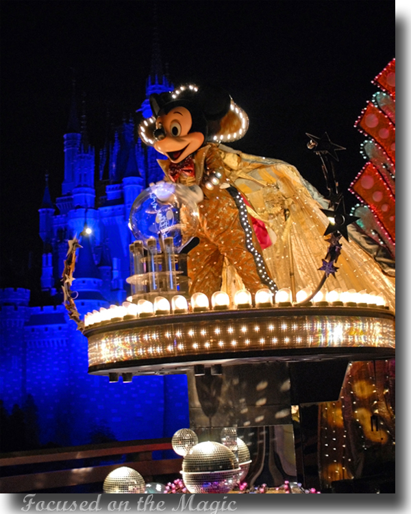 Mickey Mouse, SpectroMagic, Focused on the Magic