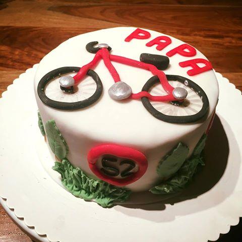 Nicoles Zuckertraum Fahrrad Torte