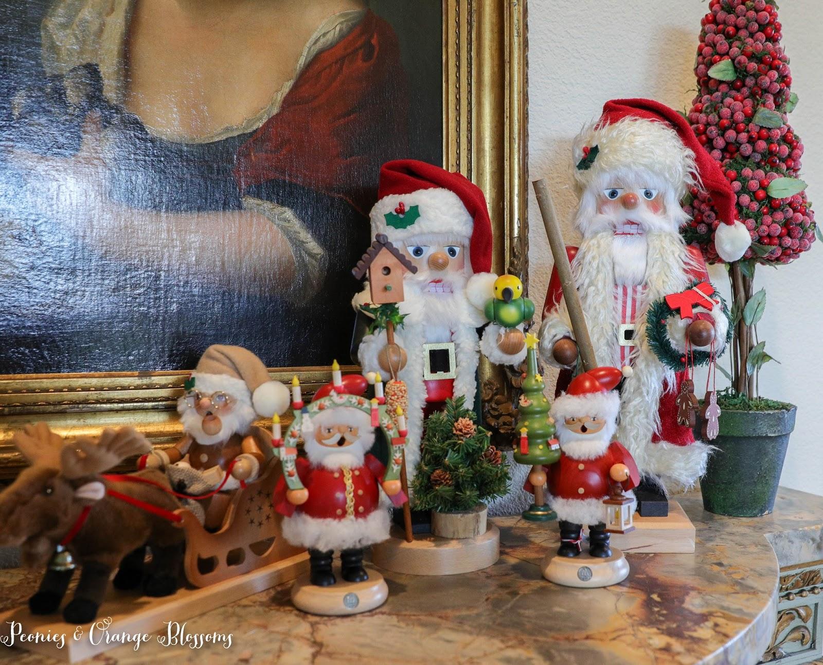 Santa Nutcracker Display