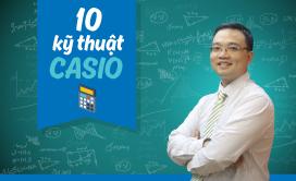 [Hocmai] 10 kỹ thuật giải Toán trắc nghiệm bằng Casio - Thầy Lưu Huy Thưởng