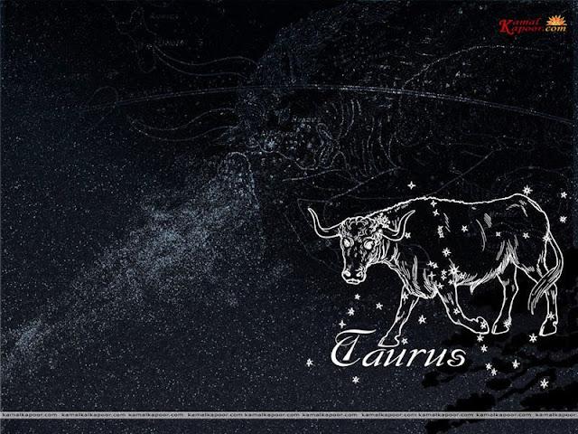 Taurus zodiac symbol wallpaper