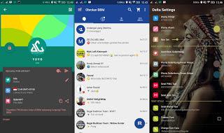 Aplikasi BBM Mod Android Delta v 2.12.0.11 Release Terbaru Changelog v3.2.0