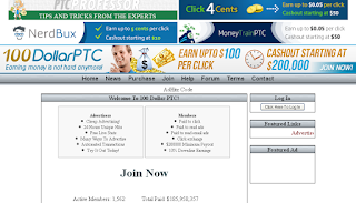 100dollarptc review legitimate or scam site 2015