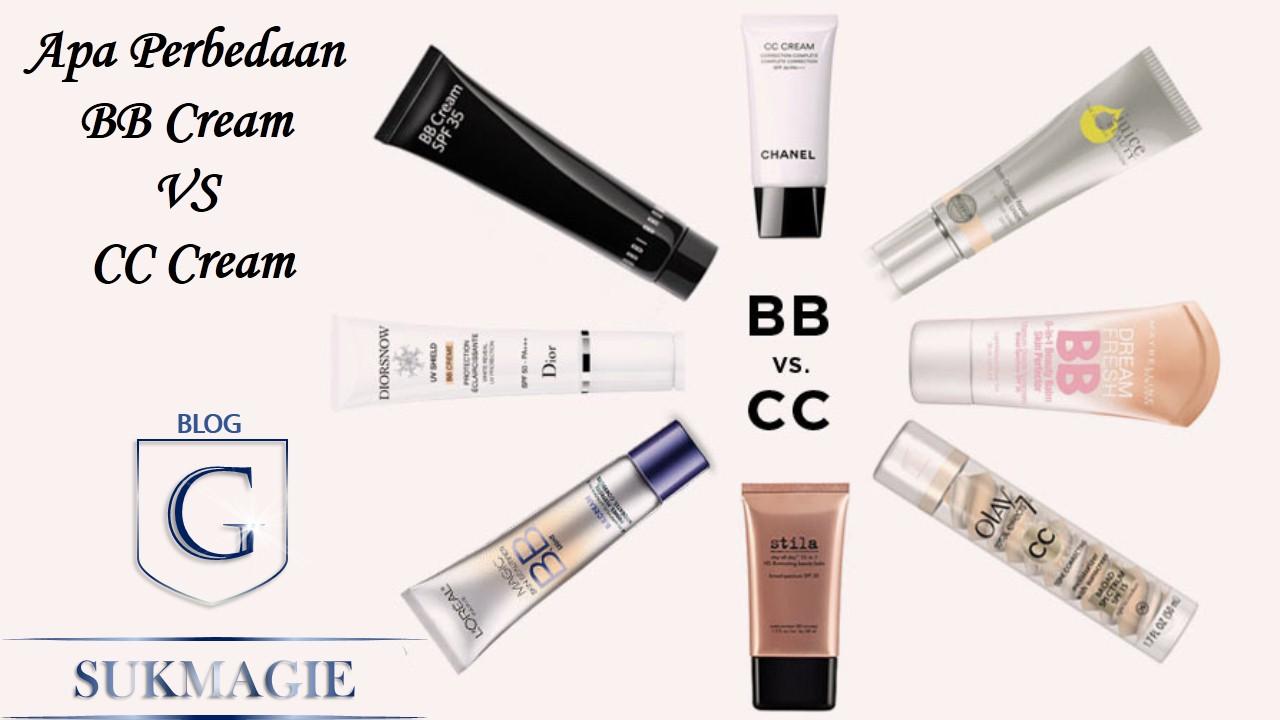 Perbedaan BB Cream Dan CC Cream