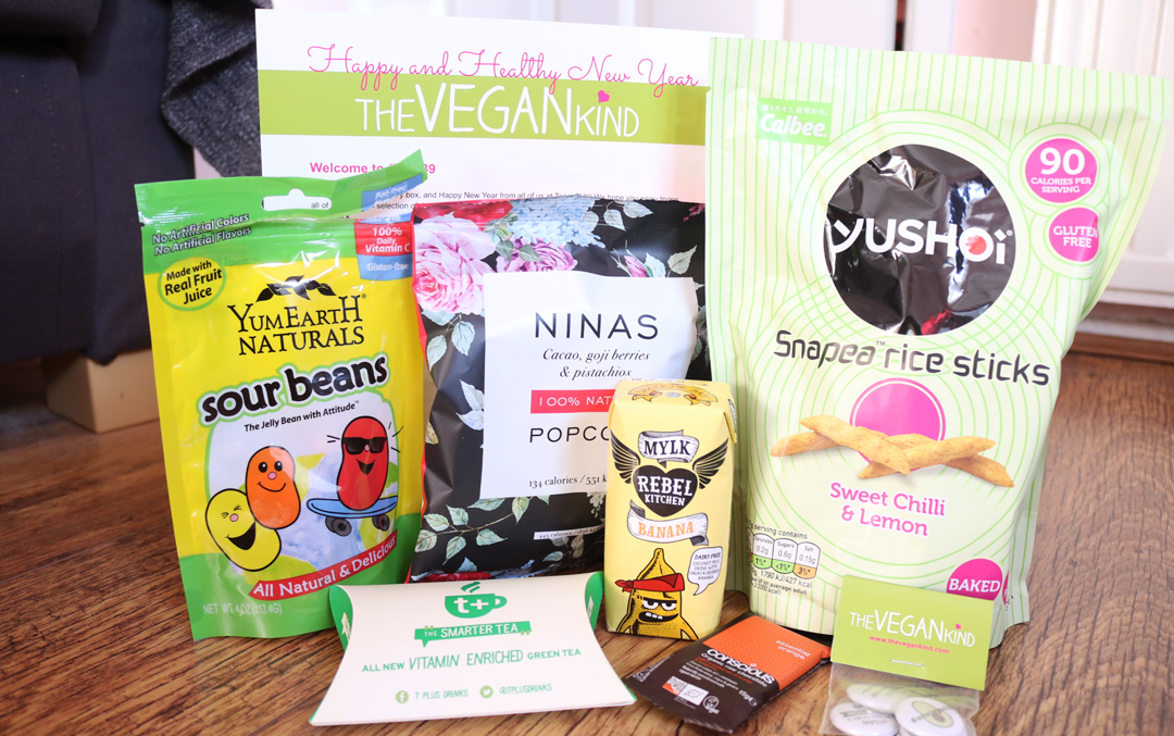 The Vegan Kind Lifestyle Box - January 2017