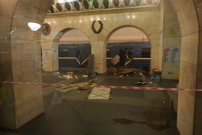 szentpétervári metrórobbantás, Oroszország, Szentpétervár, terrorcselekmény,