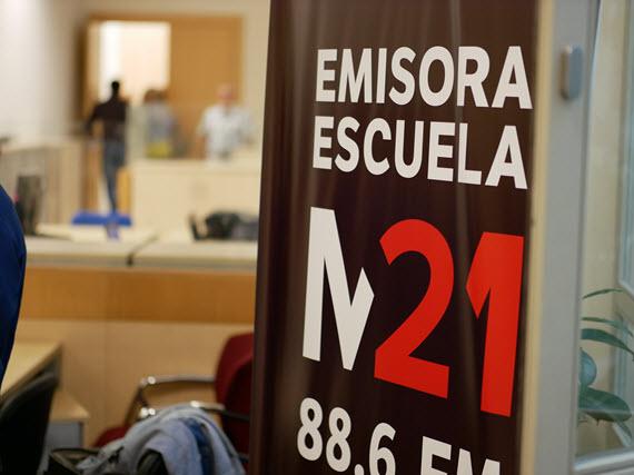 Arranca M21 en el 88.6 FM, la emisora escuela del Ayuntamiento de Madrid