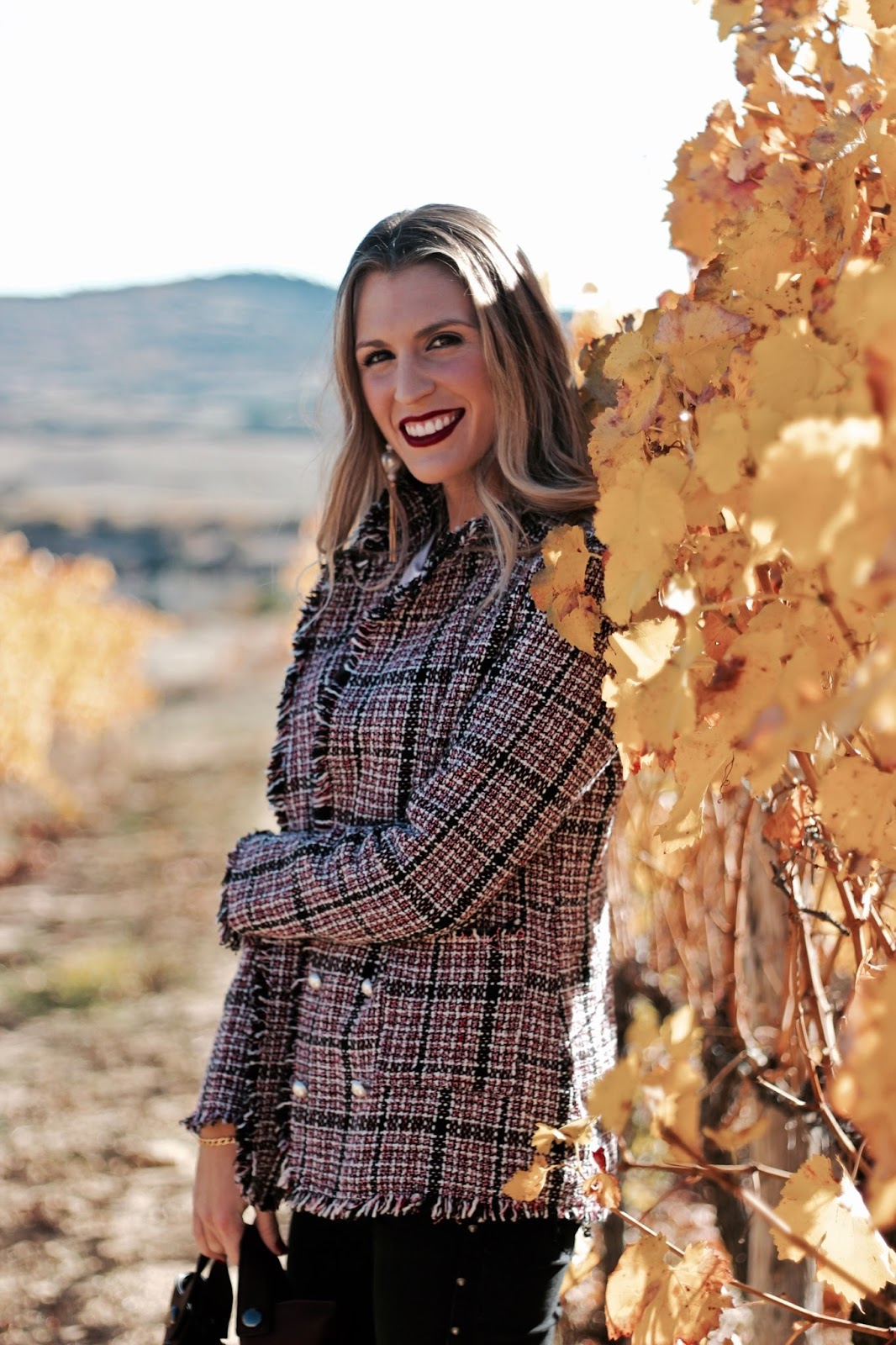 chaqueta tipo Chanel otoño