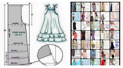 aplikasi pola desain baju android