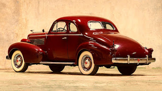 1937 Cadillac Lasalle Opera Coupe Rear