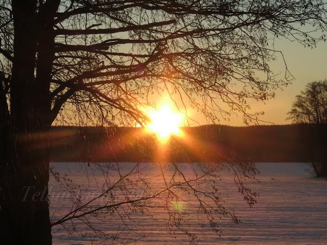 iltakuvat, auringonlasku, talvikuvat, lahti, vesijärvi, i love vesijärvi
