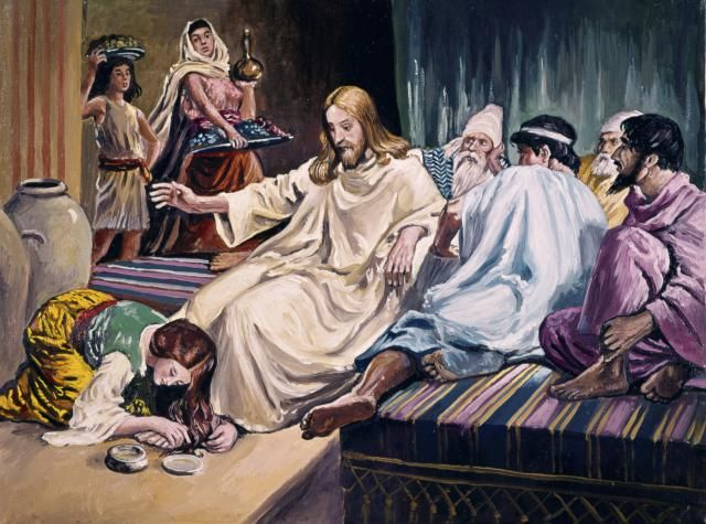 ¿Cómo pudo la mujer lavar los pies de Jesús con sus lágrimas?