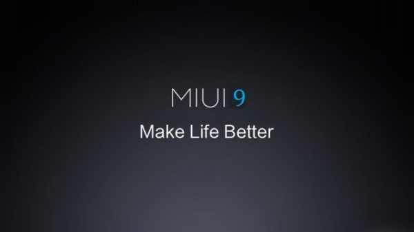 New tracks on the launch of MIUI 9