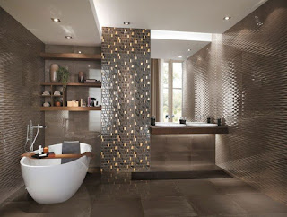 baño lujo moderno