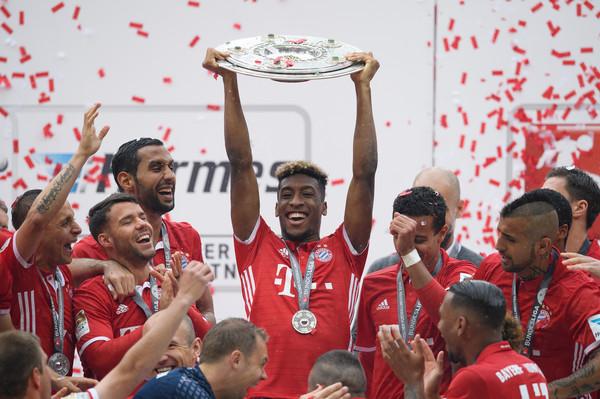Kingsley Coman có lần thứ 6 liên tiếp vô địch Bundesliga