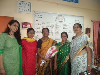 Dr. Uma Sivaraman, Deputy Commissioner visited KV Kanjikode
