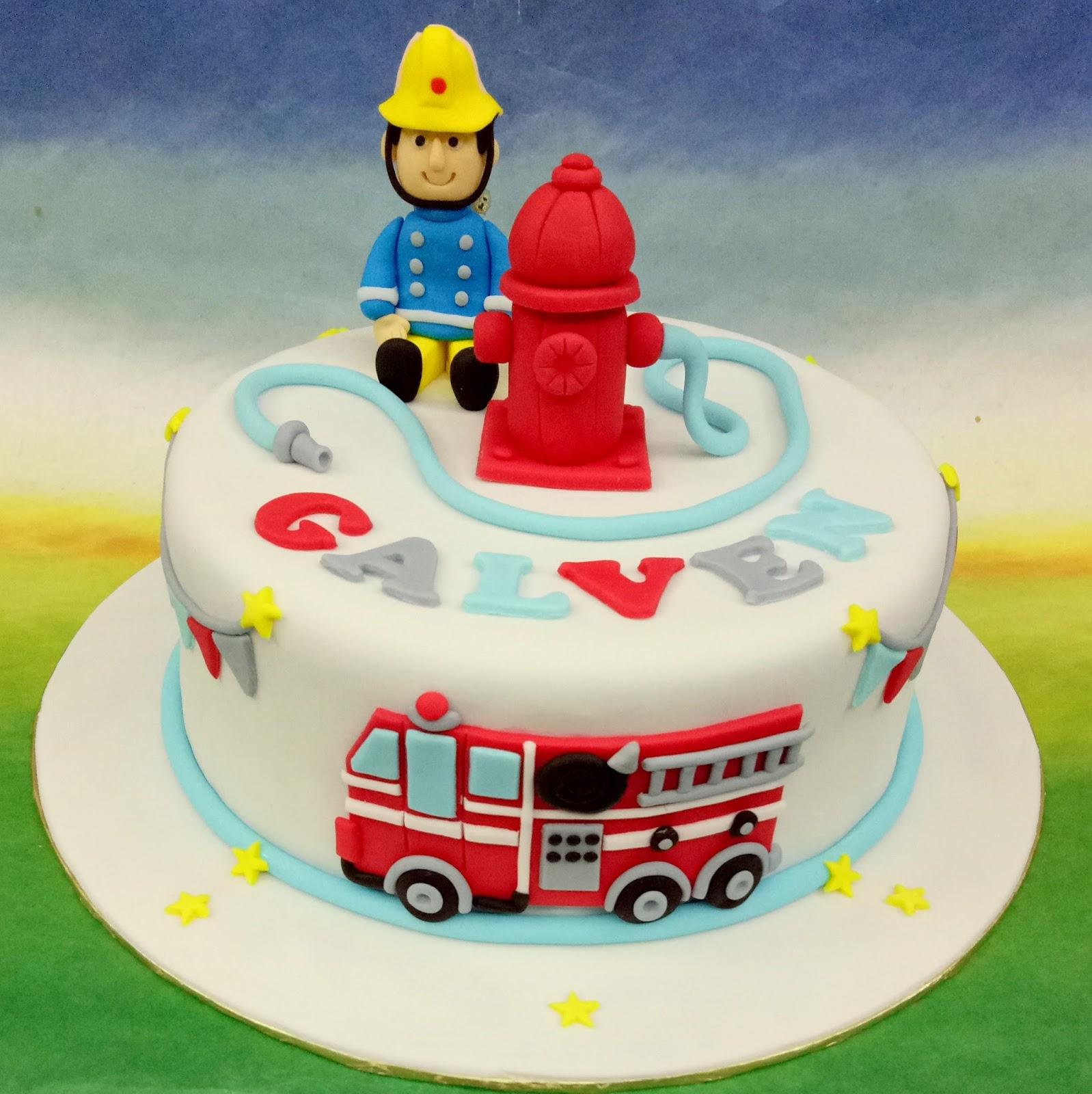 Jenn Cupcakes Muffins Fireman Sam Cake